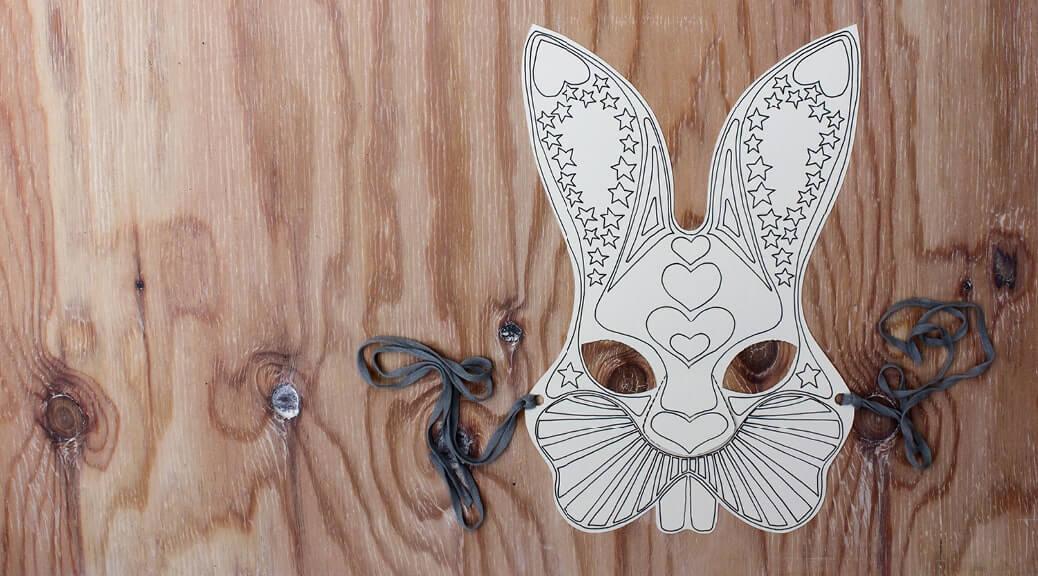 WLKMNDYS // Bunny Maske // Printable