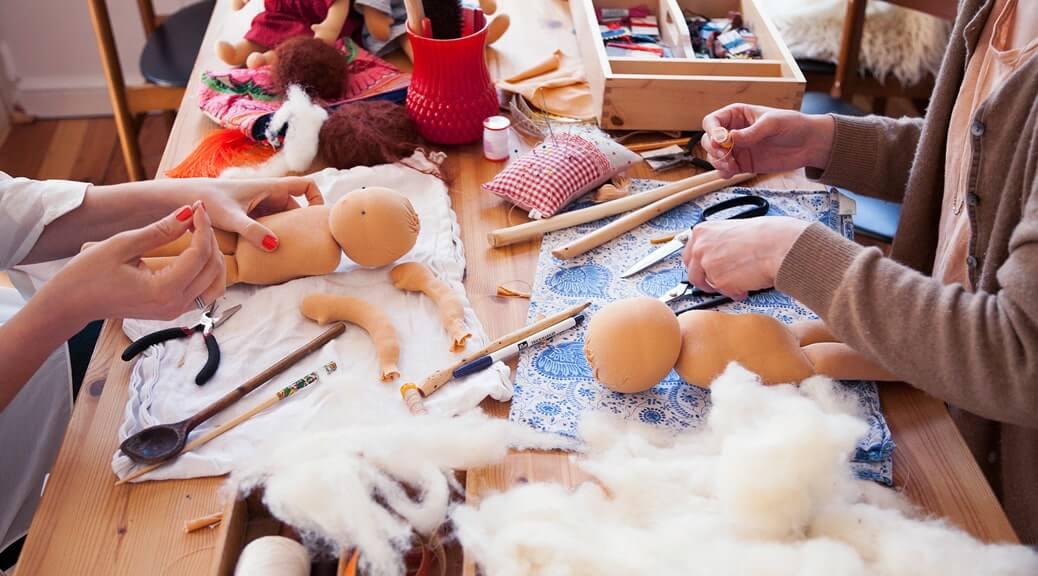 Ein Tag mit der Puppenmacherin Julia Kowalke