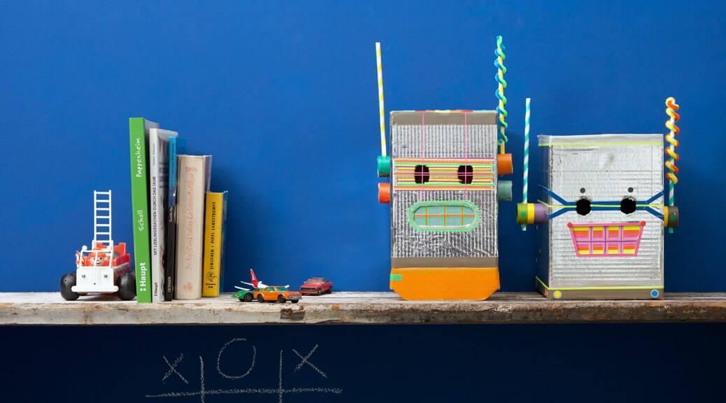Die Roboterhelme
