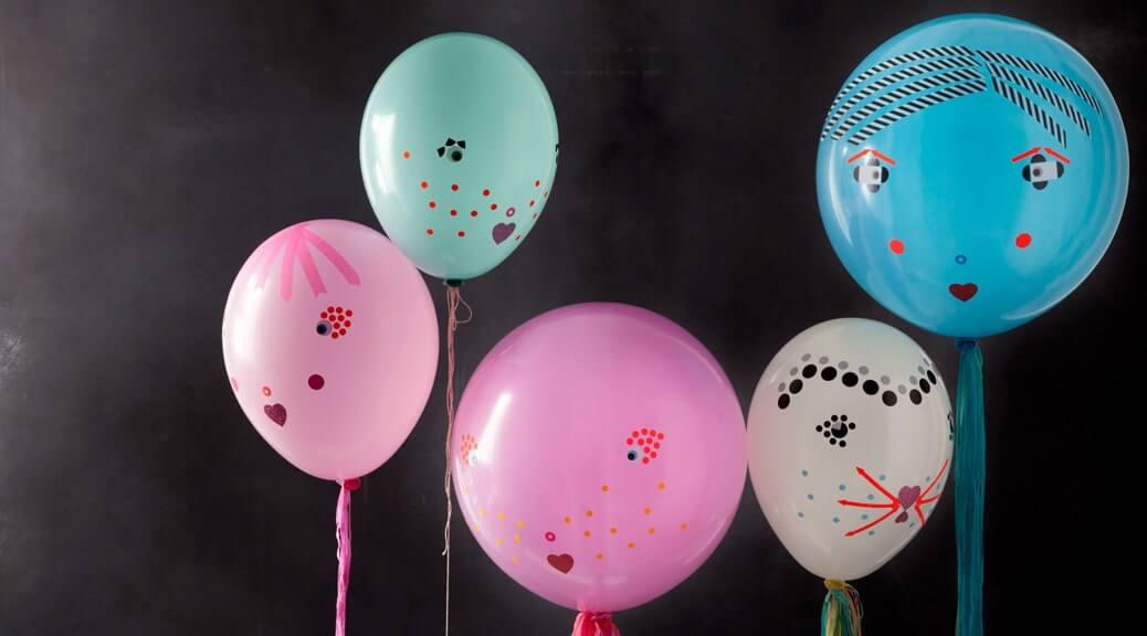 WLKMNDYS // Happy Monday DIY // Ballonfamilie