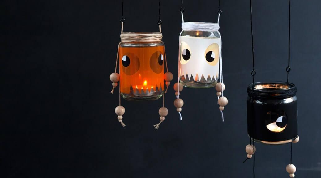 WLKMNDYS // Happy Monday DIY // Leuchtgeister