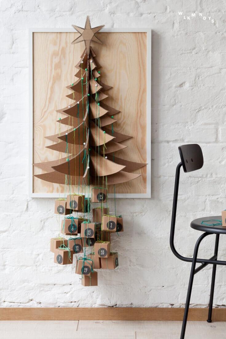Päckchenbaum Adventskalender