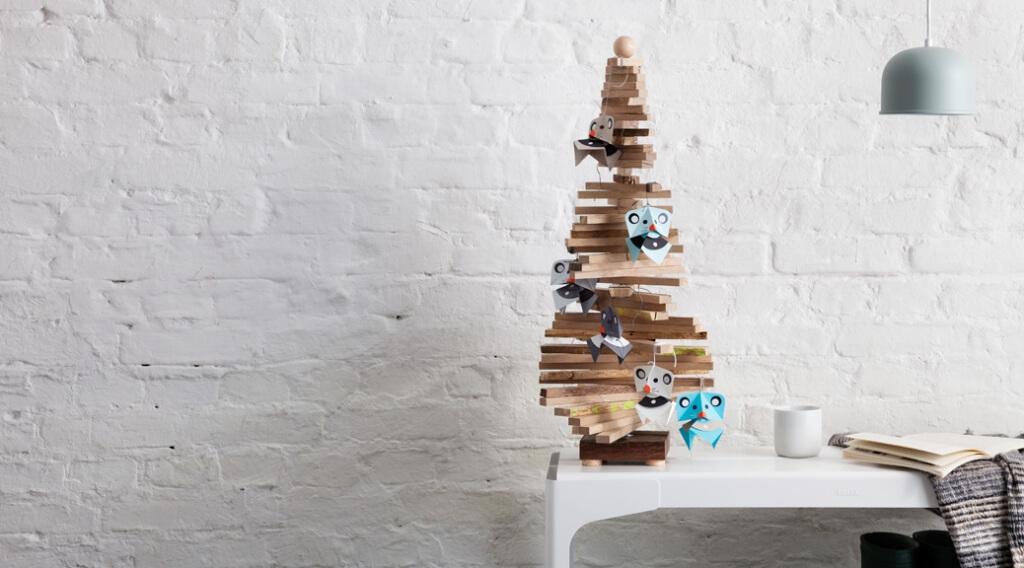 Weihnachtsdeko basteln - Weihnachtsmäuse selber machen