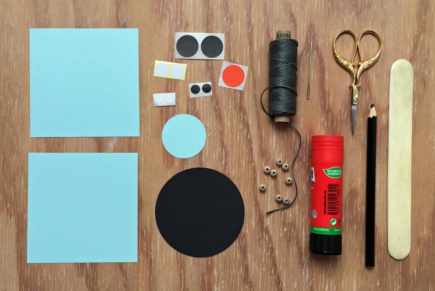 Weihnachtsdeko basteln: DIY Weihnachtsmäuse step-by-step Anleitung