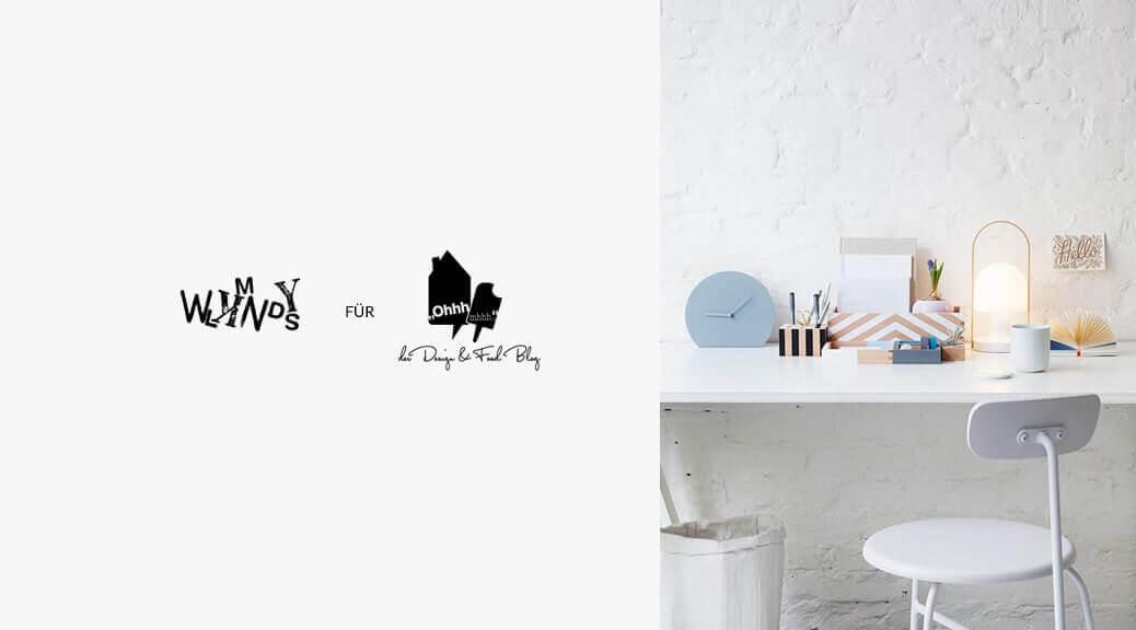 WLKMNDYS // DIY Kolumne // Schreibtischbutler