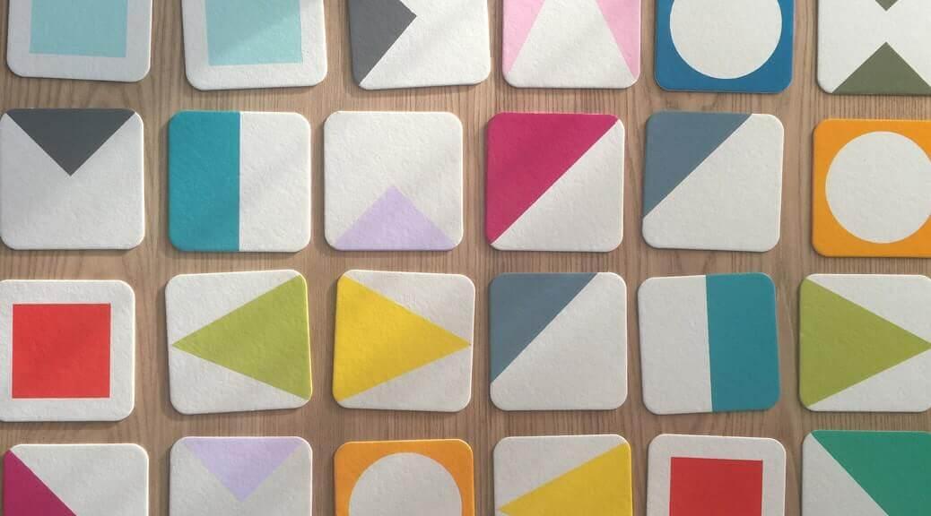 WLKMNDYS // Happy Monday DIY // Farben und Formen Memory