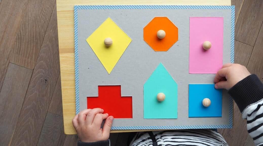 Farben und Formen Puzzle