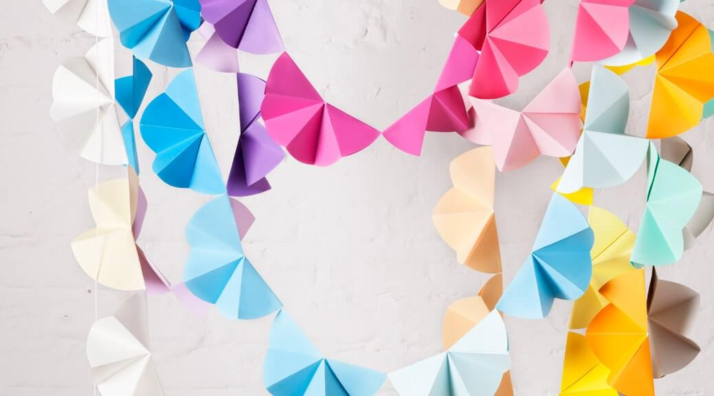WLKMNDYS // Happy Monday DIY // Partygirlande
