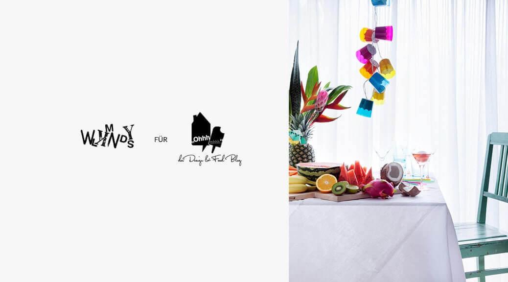 WLKMNDYS für OhhhMhhh Kolumne 10 // Tutti Frutti Partylichter