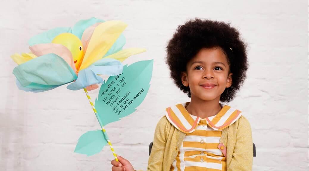 WLKMNDYS // happy Monday DIY // Flower Pops Einladung