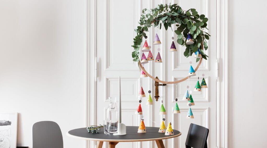 Adventskalender basteln: DIY Adventszwerge