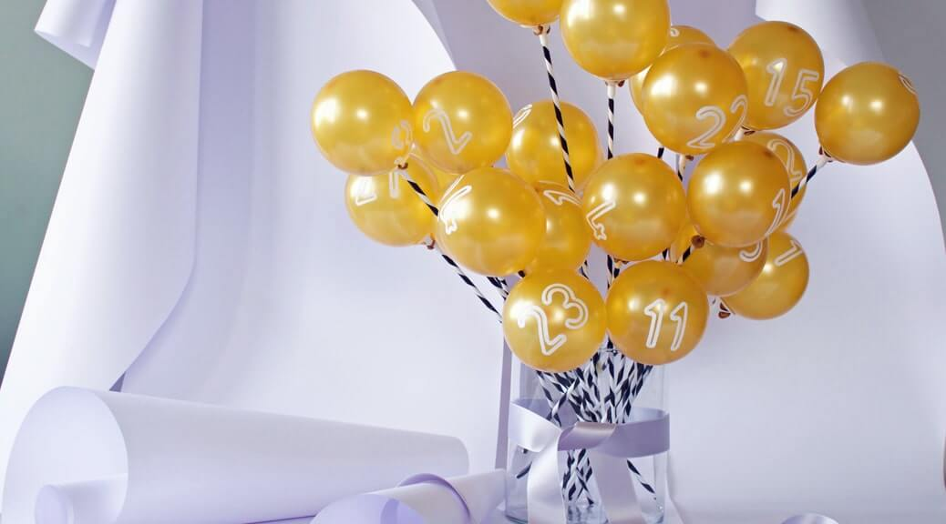 We Like Monday // WLKMNDYS // Adventsballons // Happy Monday DIY