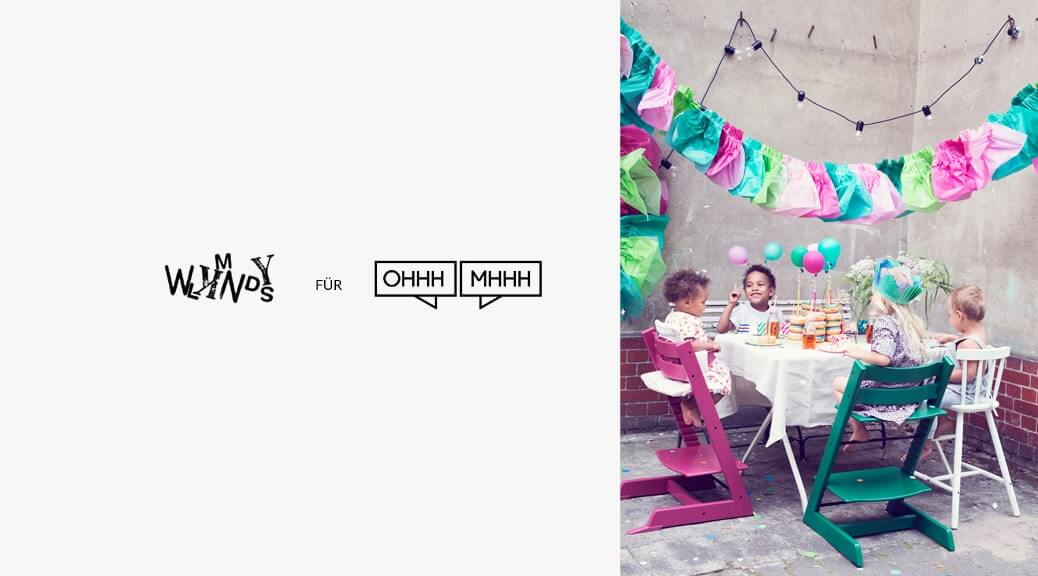 WLKMNDYS // We Like Mondays // DIY Kolumne // Sommerparty