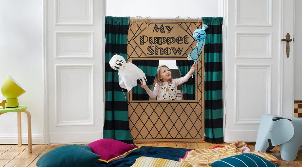 DIY Puppentheater: Step-by-Step Anleitung - Spiele für Kindergeburtstag oder Kinderparty