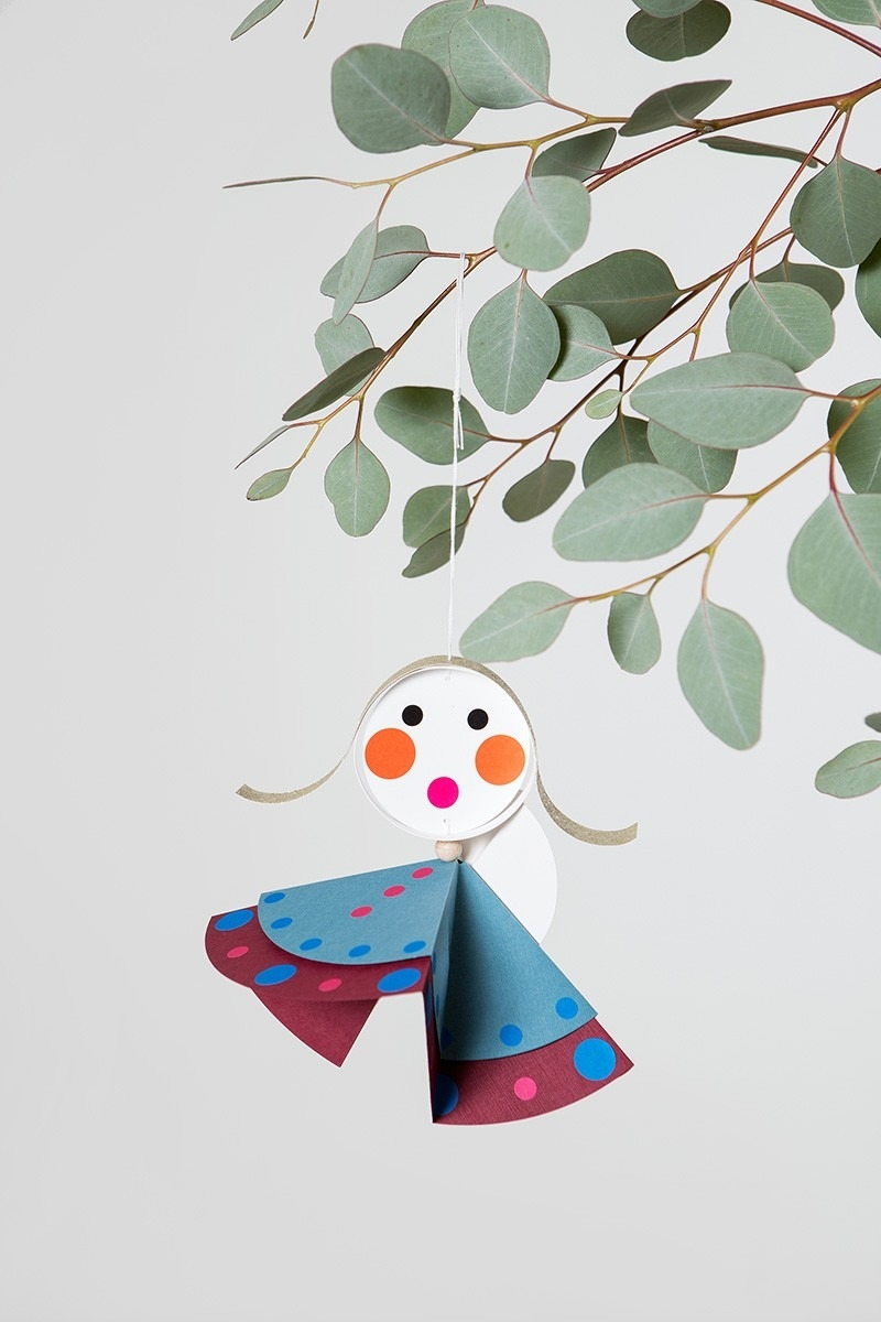 Weihnachtsdeko DIY Bastelset - Engelchor