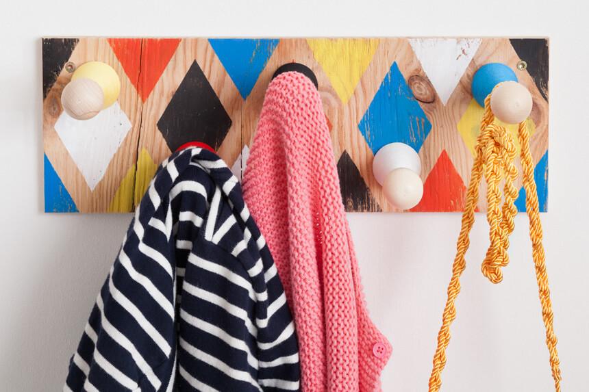 WLKMNDYS // Happy Monday DIY // Harlekin Garderobe