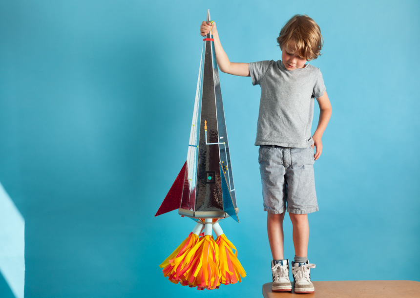 WLKMNDYS // Daddy's Corner // Raketenschultüte