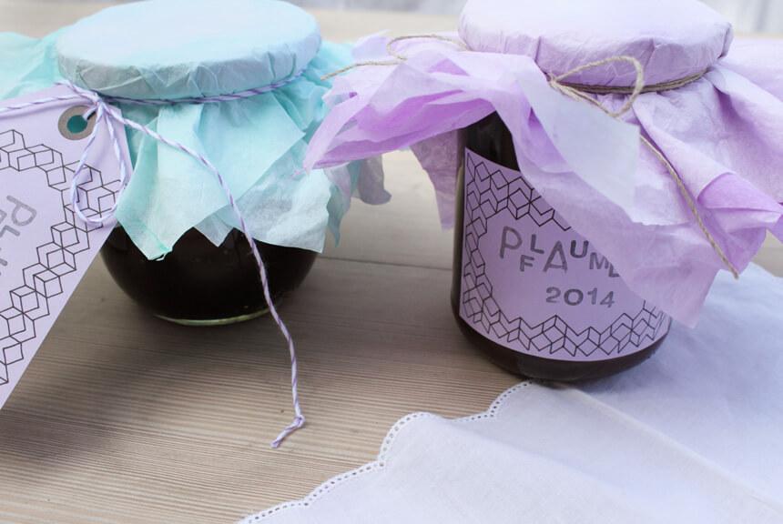 DIY Etiketten selber drucken: Etiketten Vorlage für Herbst