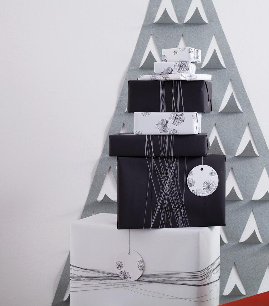 Weihnachtspapier Geschenkpapier PDF Vorlage zum selber drucken – WLKMNDYS DIY Blog