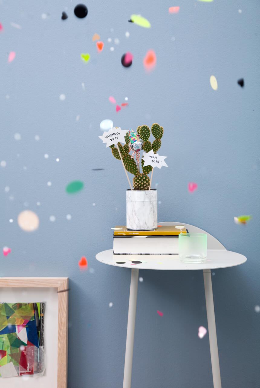 WLKMNDYS // Happy Monday DIY // Silvesterkaktus
