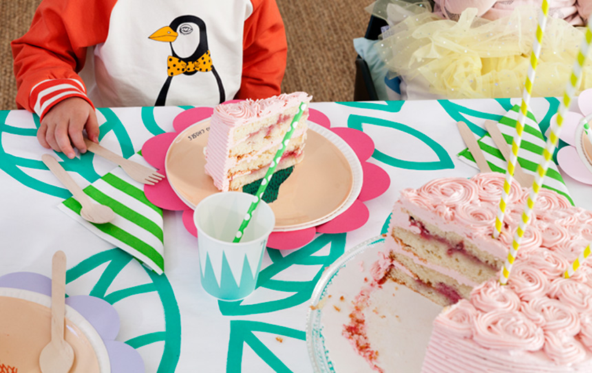 DIY Ideen für Kindergeburstag: Dekoration selbst basteln