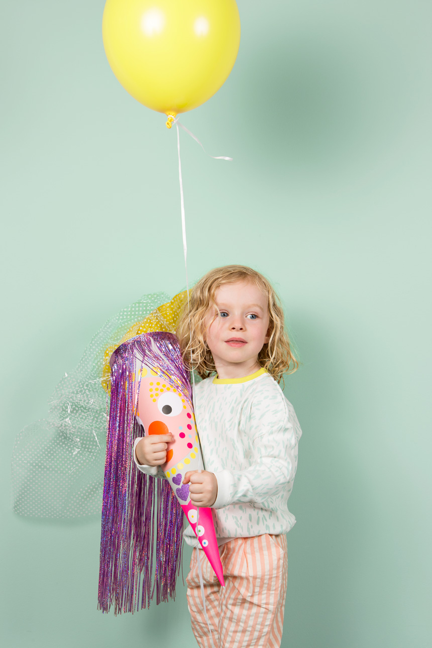 DIY Zuckertüte für Kinder basteln - Anleitung