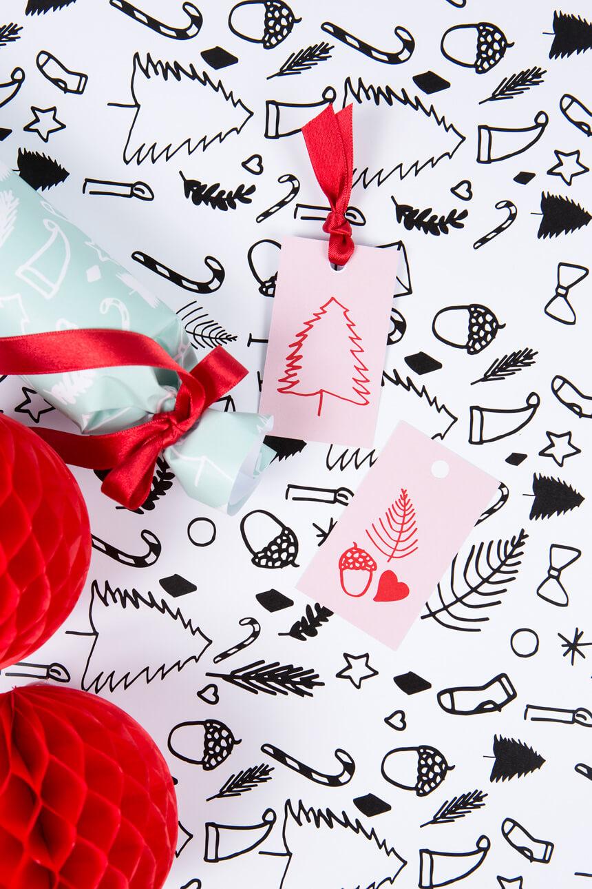 Weihnachten 2016: Geschenkpapier selbst ausdrucken - WLKMNDYS DIY Blog