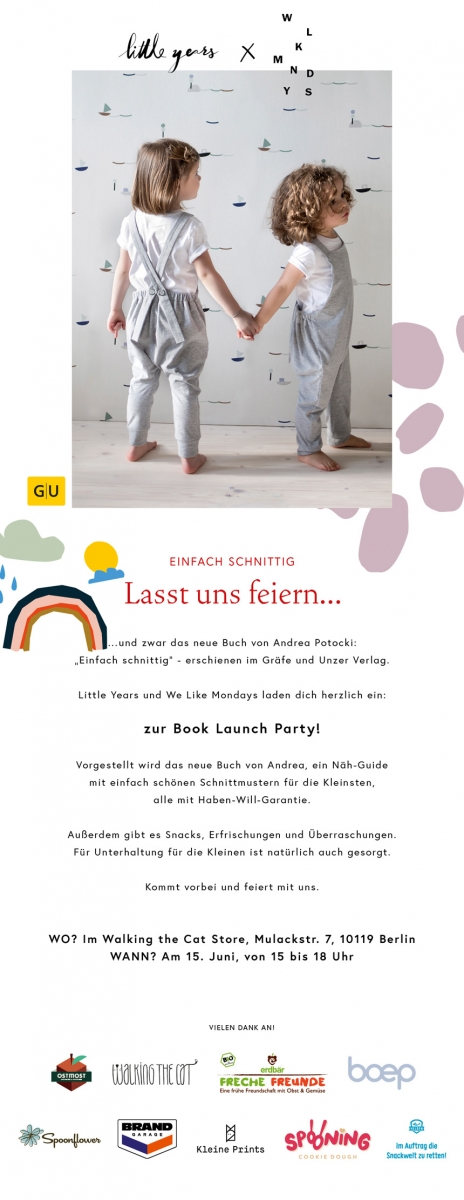 We Like Mondays // Einfach schnittig // Sew it yourself