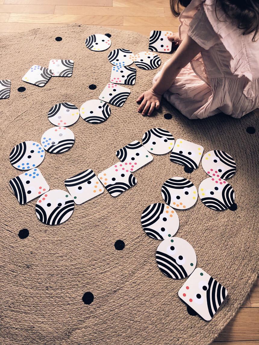 Dominospiel einfach und schnell mit Kindern basteln: WLKMNDYS DIY Blog
