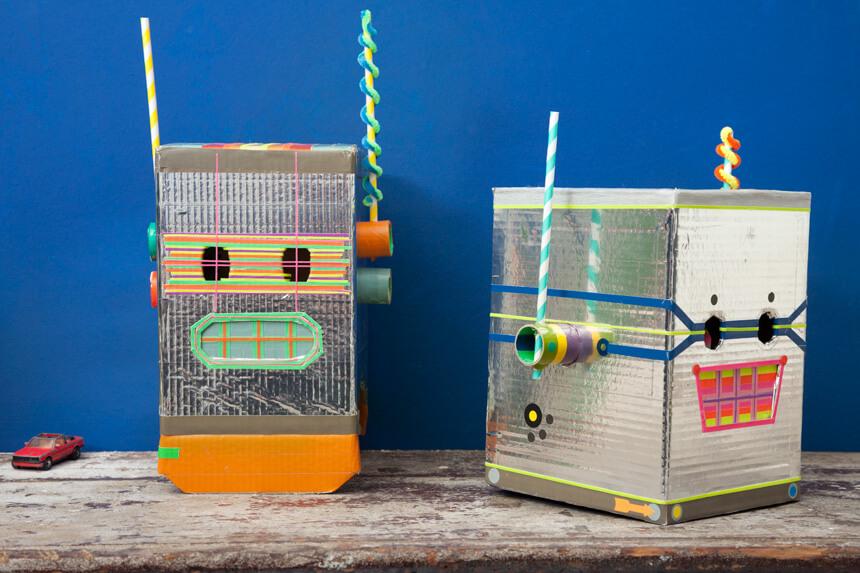 WLKMNDYS // Daddy's Corner // Die Roboterhelme