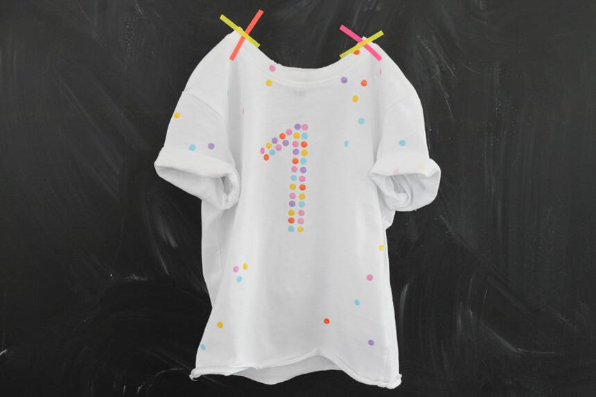WLKMNDYS // Happy Monday DIY // Happy Shirt