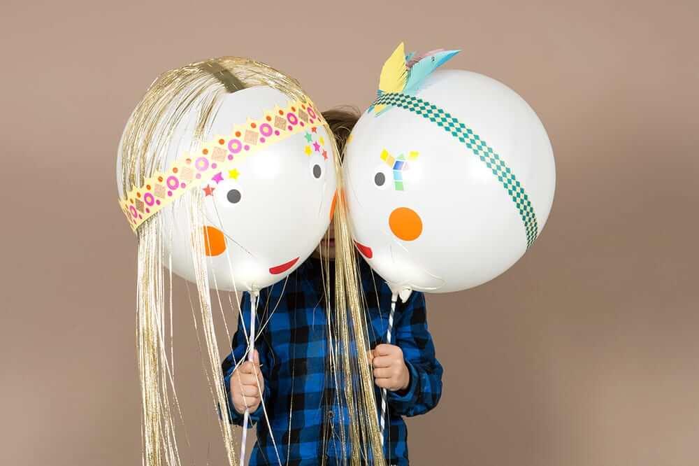 Laterne selber basteln: Leuchballonfiguren schnell und einfach gemacht