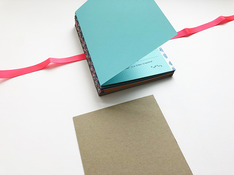 DIY Freundebuch basteln