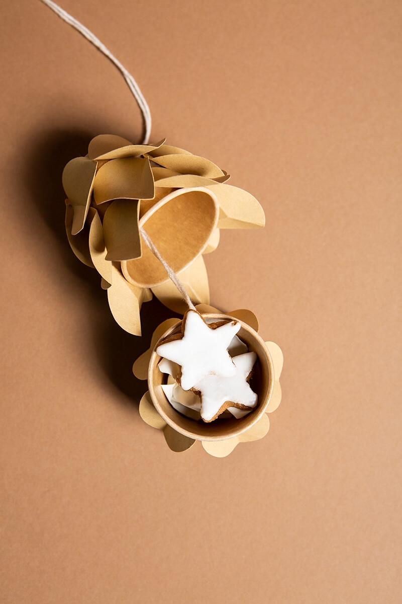 Adventskalender bastelset - Zapfen Weihnachtskalender selber basteln