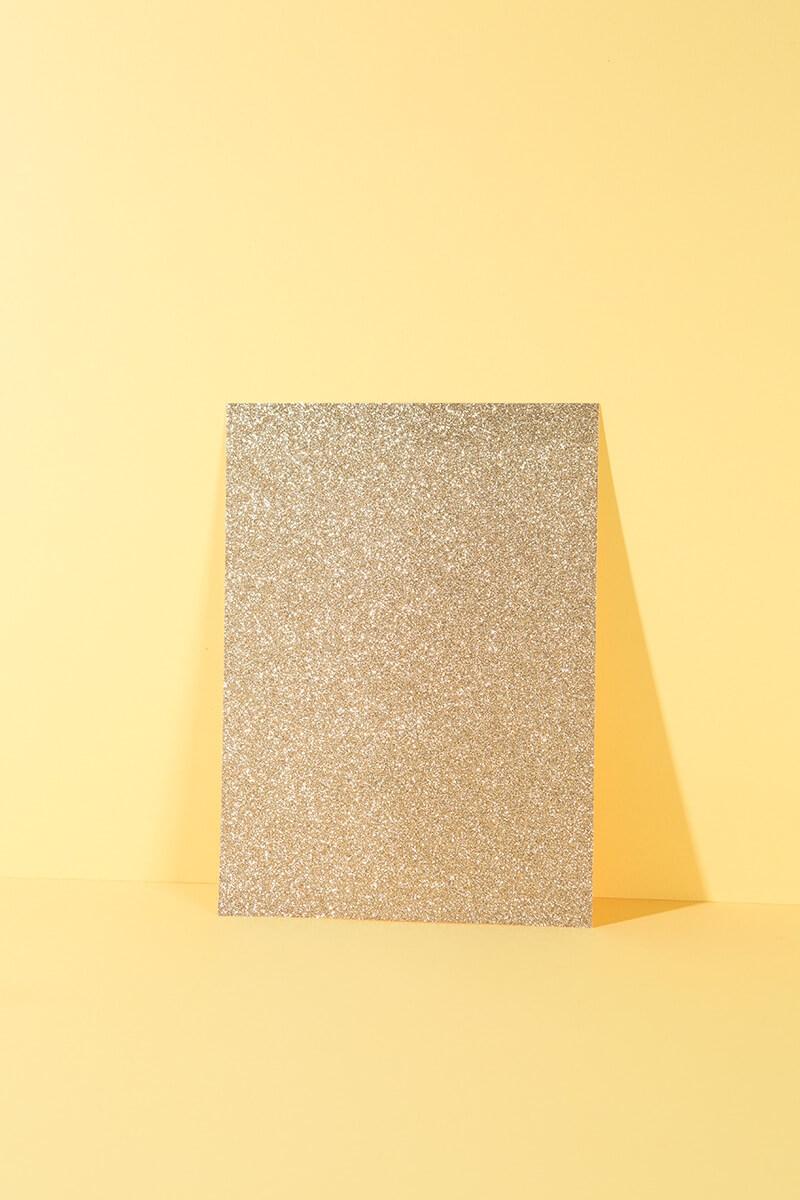 """Glitterpapierblock DIN A4 """"Glamour Mix"""""""