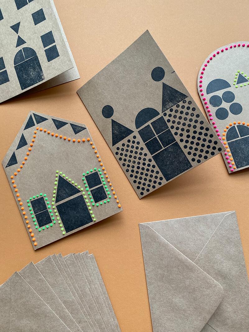 einfach weihnachtskarten basteln wlkmndys diy blog. Black Bedroom Furniture Sets. Home Design Ideas
