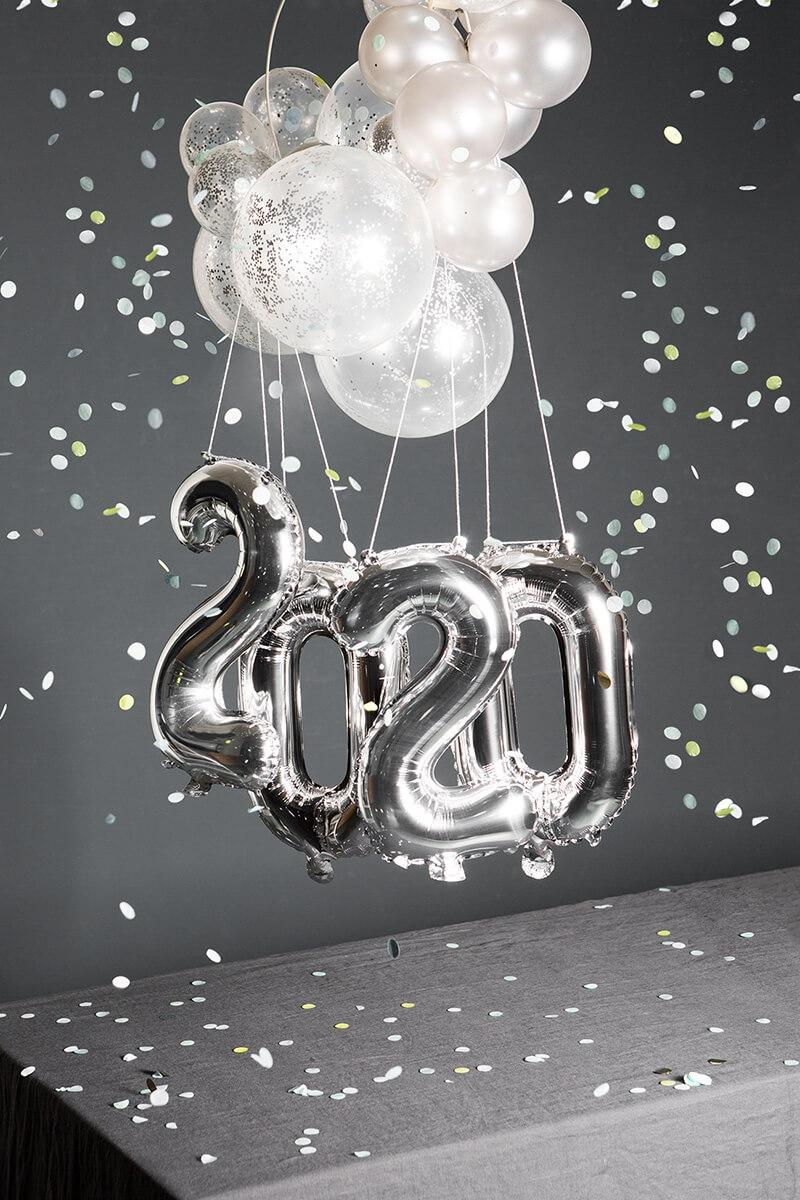 Silvester Deko Bastelset HAPPY 2020 - WLKMNDYS DIY Shop