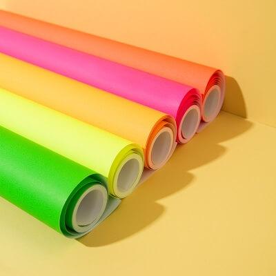 Tiny Rolls Geschenkpapier Neon 5 Meter