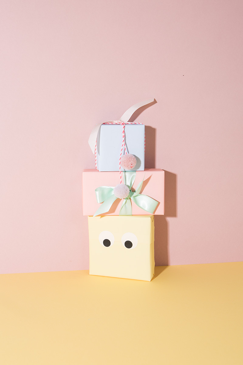 Tiny Rolls Geschenkpapier Pastell 5 Meter
