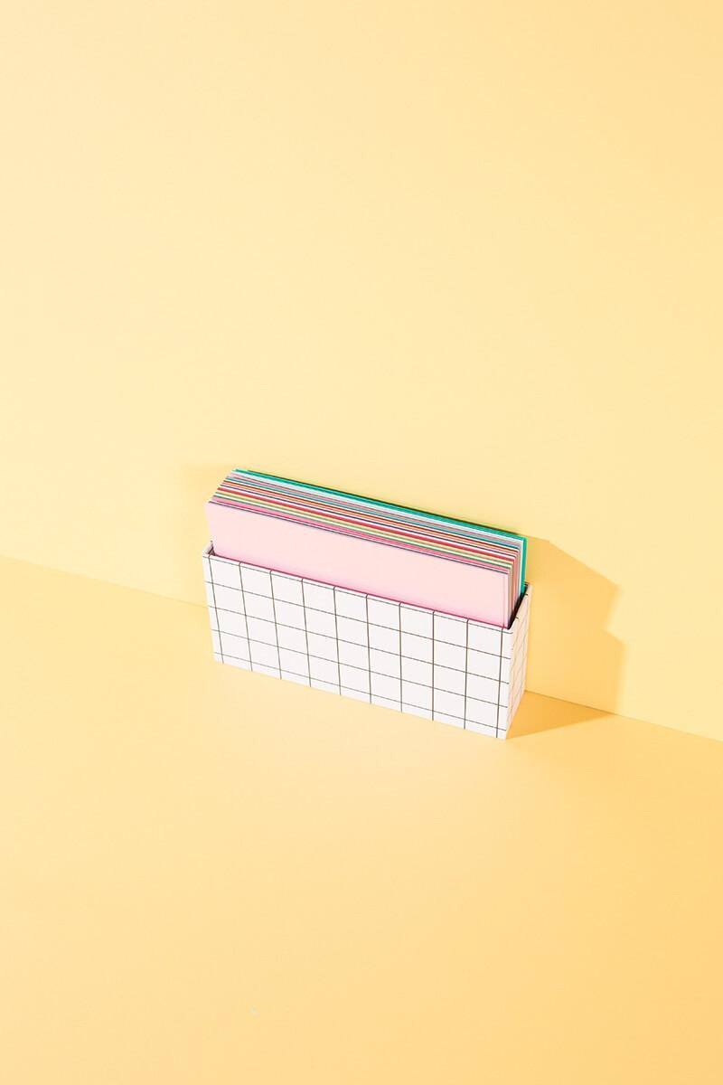 Super Color Blanko Karten 60er Box