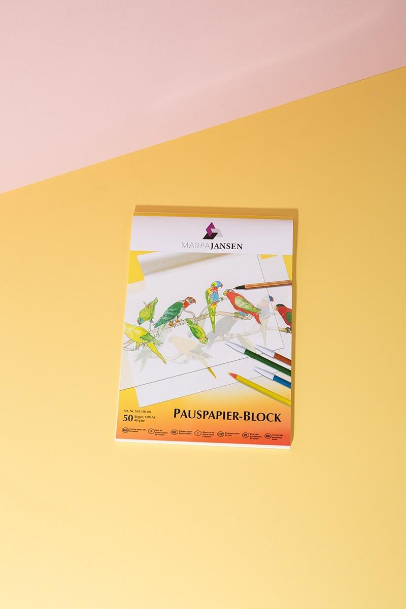 Pauspapierblock DIN A4 - WLKMNDYS DIY Shop