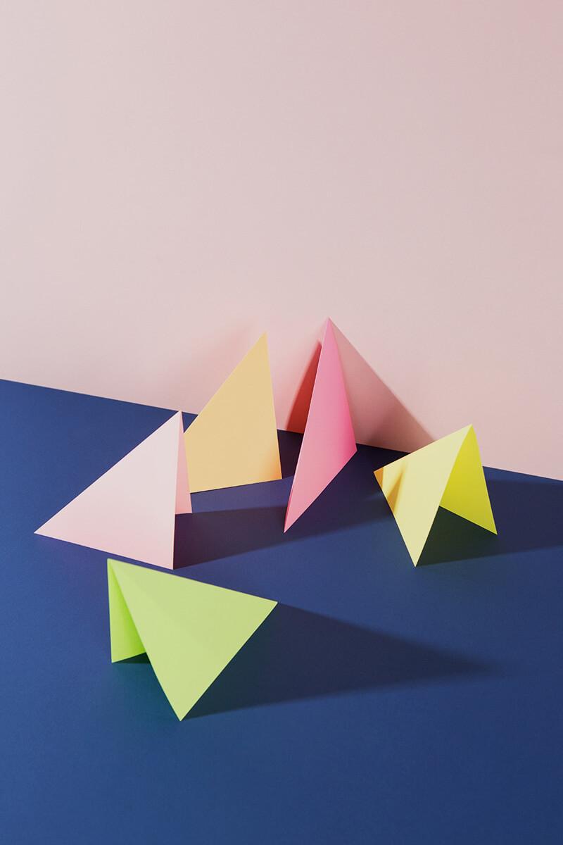 Origami Papier Neon – 50 Blatt