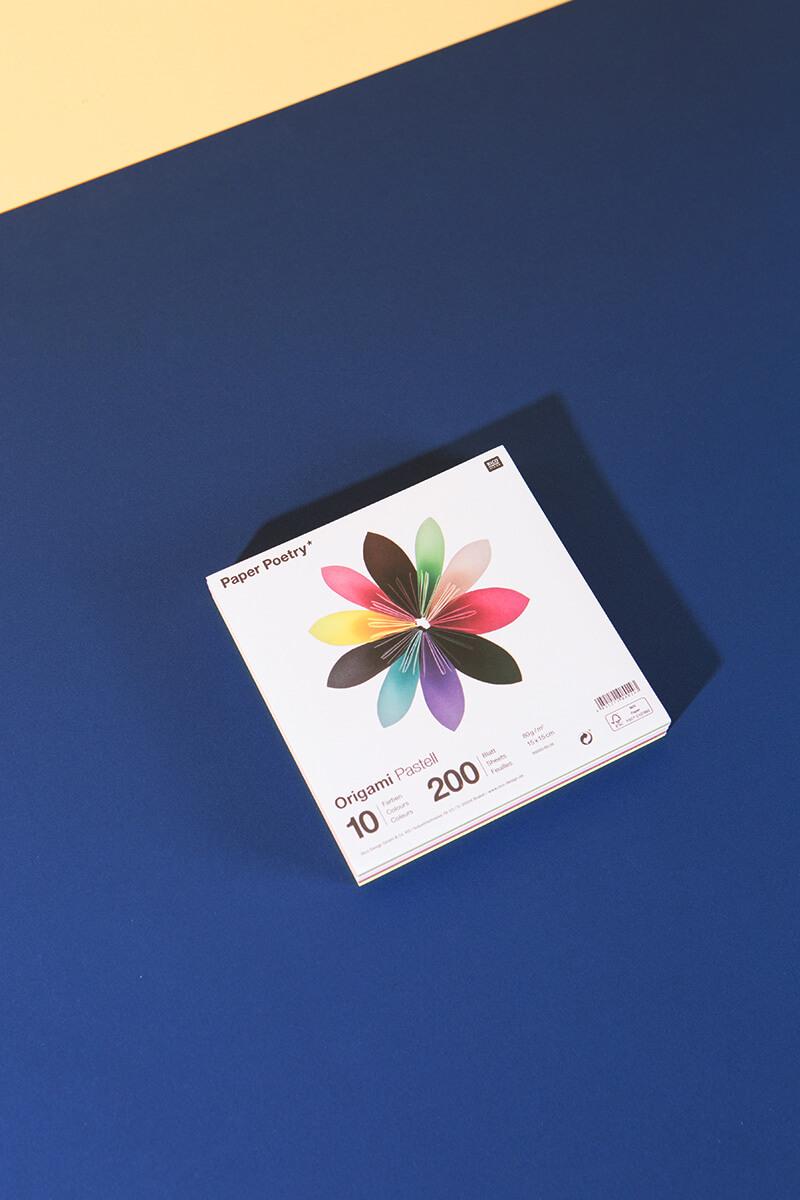 Origami Papier Pastell – 200 Blatt