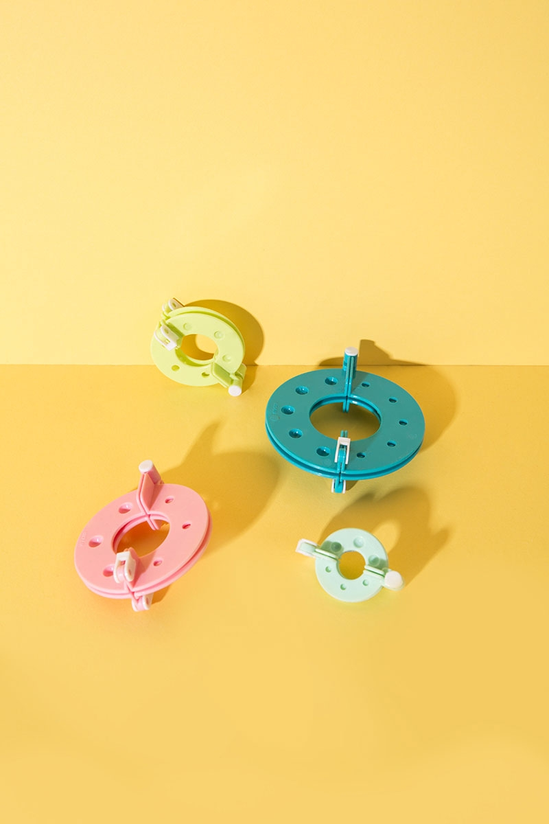 Pompon Maker 4er Set für Basteln und DIY Projekte - WLKMNDYS Shop