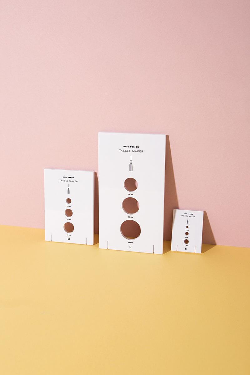 Quasten & Tassel Maker 3er Set für Basteln und DIY Projekte - WLKMNDYS Shop
