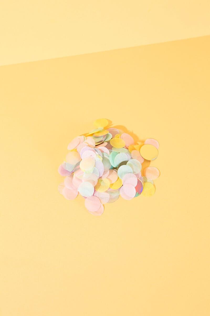 "Konfetti Mix ""Candy"" für Basteln und DIY Projekte - WLKMNDYS Shop"