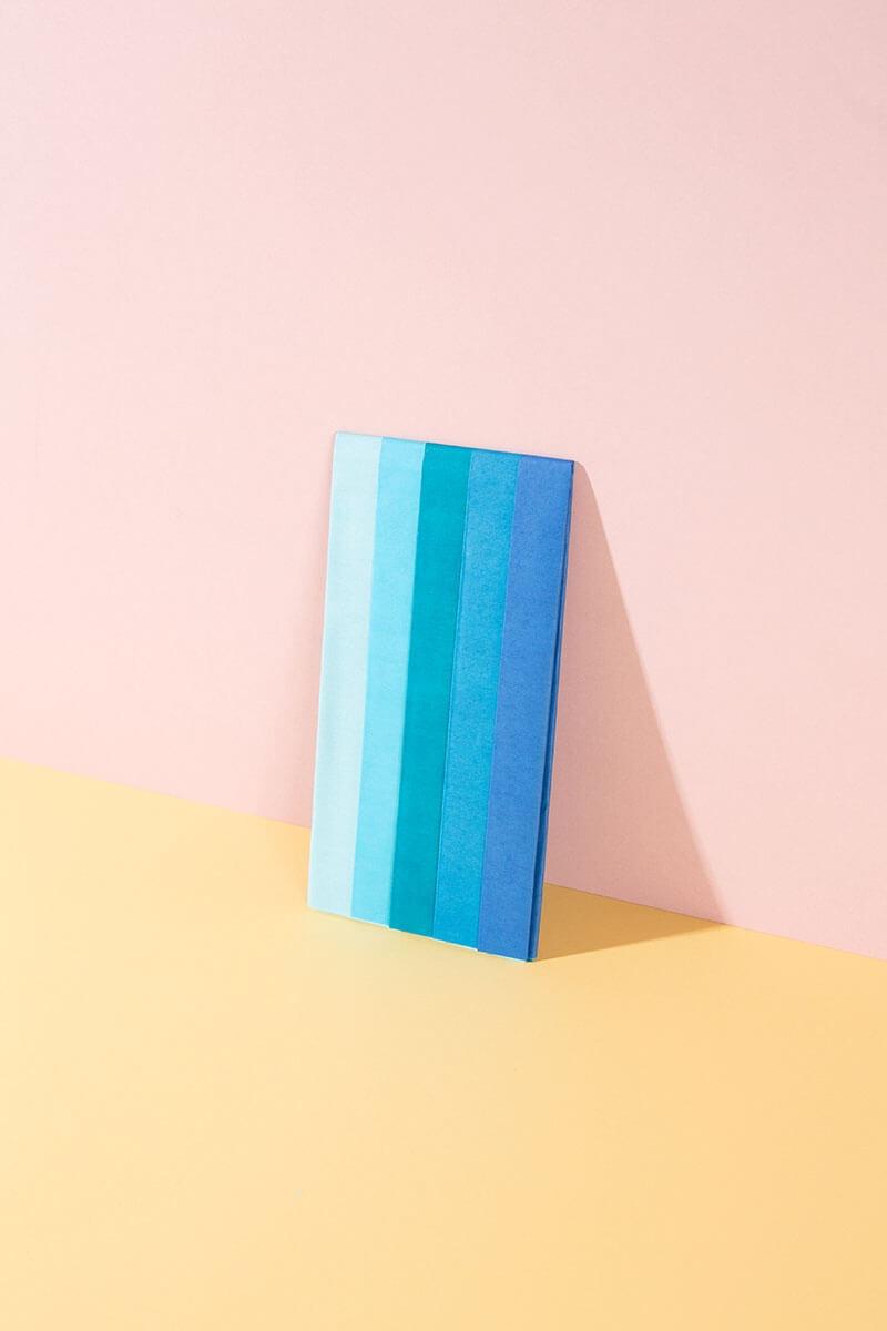 Seidenpapier Set – 5 Bogen für Basteln und DIY Projekte – WLKMNDYS Shop