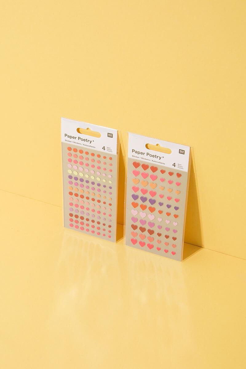 Mini Sticker für Basteln und DIY Projekte - WLKMNDYS Shop