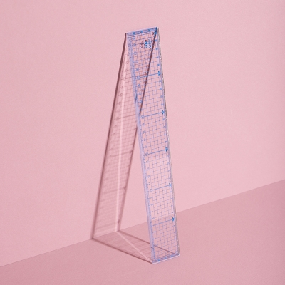 Kreativlineal mit Raster für Basteln und DIY Projekte - WLKMNDYS Shop