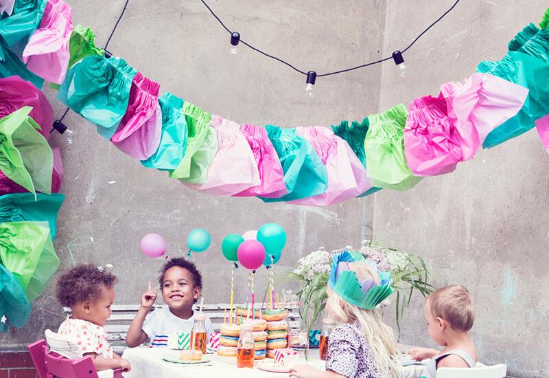 Deko für Kindergeburtstag basteln: 7 einfache DIY Ideen